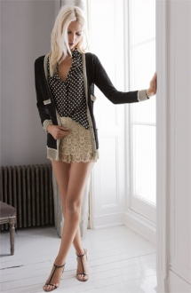 Haute Hippie Cardigan, Blouse & Shorts - Summer Clothes Are Calling