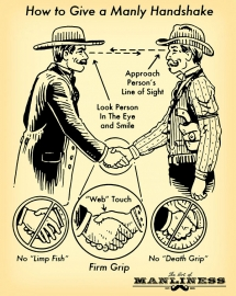 How to Give a Manly Handshake - Things every man should know