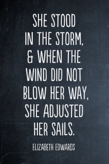 Adjust your sails - Quotes & other things