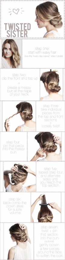 Pretty Updo - Fave hairstyles