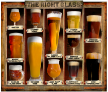 The right beer glass makes the beer - Drinks