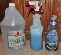 Bathroom cleaner - Household Tips