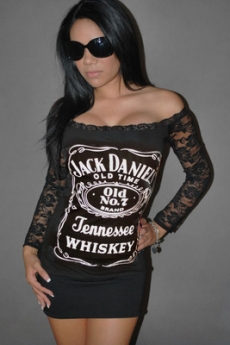 Jack Daniels Mini Dress Tunic - Knock 'em Dead Dresses