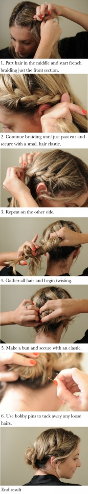DIY Guide to Using a Pin to Hold Up Hair - Hair Styles to Try