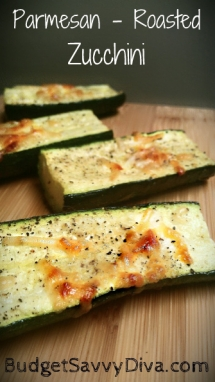 Parmesan Roasted Zucchini - Recipes & Fave Foods