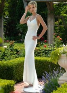 Sleek and Elegant Wedding Dress - My Wedding Dress
