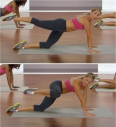 Plank Attitude Back and Side - Ab Exercises
