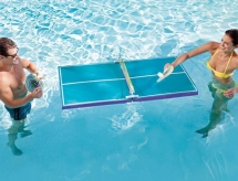 Floating Table Tennis - I should have thought of that