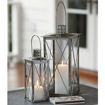 Set of 2 Candle Lanterns - Home Accents