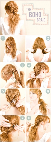 The Boho Braid - Fave hairstyles