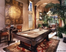 Furniture of a Billiards Room - Awesome furniture