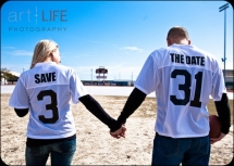 Jersey Save the Date Idea - Wedding Ideas