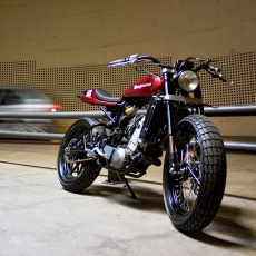 Custom Husqvarna motorcycle - Vintage Inspired Motorcycles