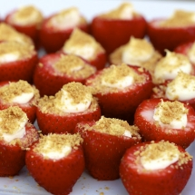 Cheesecake Stuffed Strawberries - Unassigned