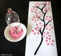 Cherry Blossom Art  - Fun crafts