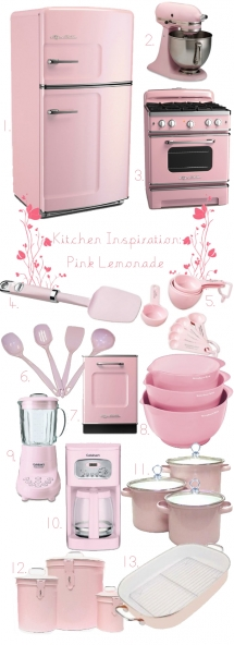 Pink Kitchen - Most fave products