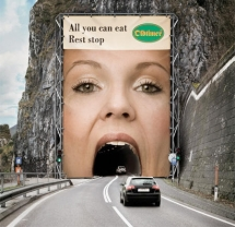 Oldtimer... All you can eat rest stop - Funny advertisements