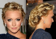 Messy updo - Fave beauty & hair ideas