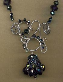wire and pendant necklace - Jewlery making ideas