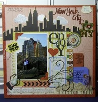 New York City Scrapbook Page - Scrapbooking