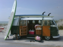 Vintage VW Bus - Cars
