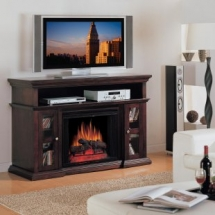 Fireplace Entertainment Stand - Save for it :)