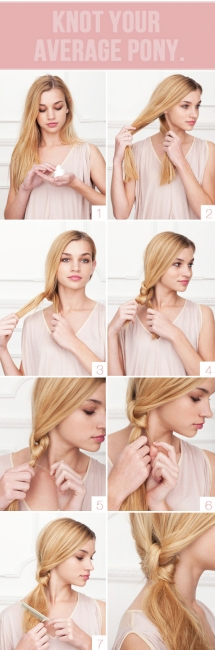 Knot Your Average Pony - Fave hairstyles