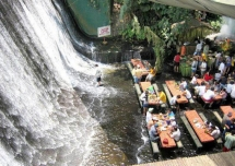 Waterfall restaurant in the Village of Escudero - Trip Ideas