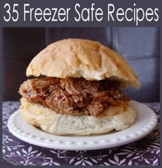 35 freezer safe recipes - Recipes for dishes that can be frozen