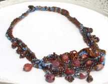 bead necklace - Jewlery making ideas
