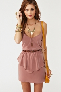 Peplum Dress - Cute Dresses