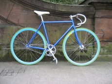 Kazane Track Bike: Custom Build - Single-speed bikes