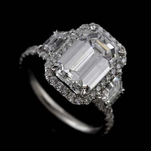 Platinum Micro Pave Cut Down Diamond - All Types of Style