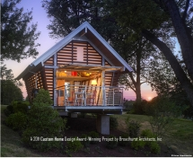 The Crib - the enviresponsible shelter  - Small Cabins