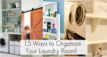 15 Ways To Organize Your Laundry Room - Laundry Room Ideas