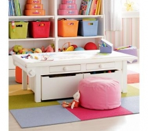 Kids Play Table and Chairs - Kid's Room