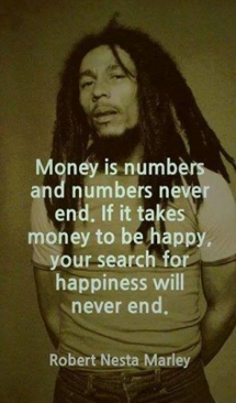 Bob Marley quote on money - Inspiring & motivating quotes