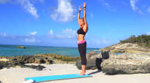 Boho Beautiful - 10 min Full Body Working for a Quick Morning Wake Up Call - At Home Exercises