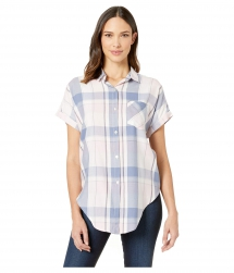 Boxy Dolman Tie Front Shirt High-Low Hem - Comfy Clothes