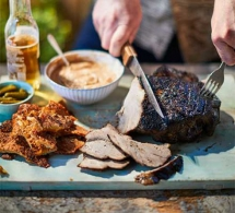 Braised & Barbecued Pork Shoulder with Cider Ketchup - Tasty Grub