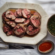 Braised Lamb with Rosemary and Garlic - Tasty Grub