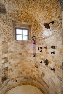 Brick tile shower - New Bathroom?