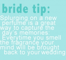 Bride Tip - Everything Weddings
