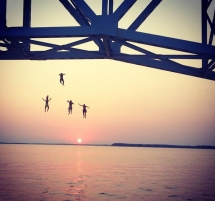 Bridge Jumping - Photography I love