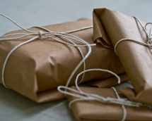 Brown Paper Packages Tied up With String - My Favourite Things