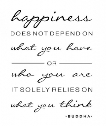 Buddha on Happiness [quote] - Great Sayings & Quotes