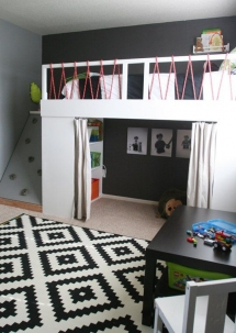 Bunk Bed Ideas #2 - Kid's Room