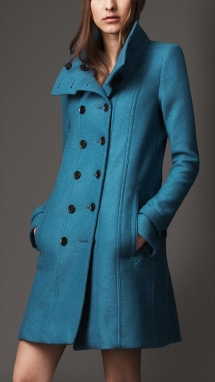 Burberry Wool A Line Coat - My style