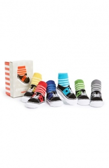 'Cameron's' Socks (6-Pack) (Baby Boys) by Trumpette - For The Baby