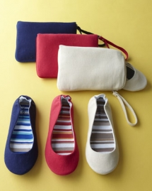 Canvas Foldable Ballet Flats - Clothing, Shoes & Accessories